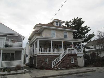 Atlantic City, Longport, Longport Borough, Margate, Ventnor, Ventnor Heights Rental For Rent: 16 S Hillside Ave