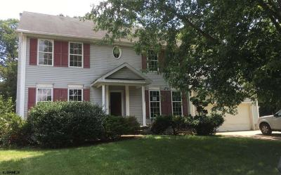 Millville Single Family Home For Sale: 3 Bel Aire Ln