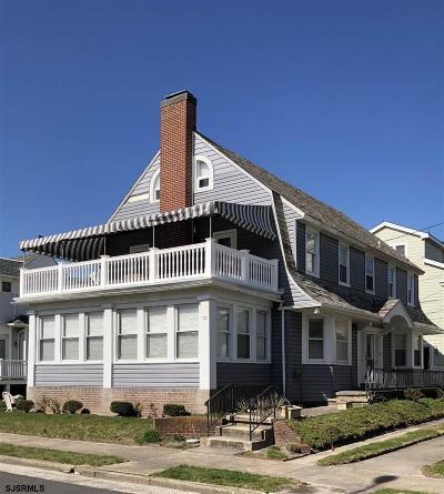 Atlantic City, Longport, Longport Borough, Margate, Ventnor, Ventnor Heights Rental For Rent: 105 S Melbourne