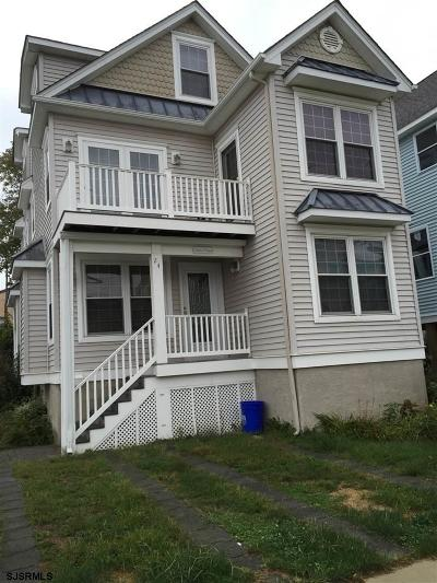Atlantic City, Longport, Longport Borough, Margate, Ventnor, Ventnor Heights Rental For Rent: 24 N Jefferson Ave Ave