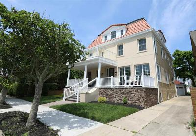 Atlantic City, Longport, Longport Borough, Margate, Ventnor, Ventnor Heights Rental For Rent: 105 S Cambridge Ave
