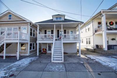 Atlantic City, Longport, Longport Borough, Margate, Ventnor, Ventnor Heights Rental For Rent: 16 N Jefferson #2nd Floor Ave