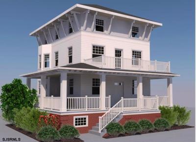 Atlantic City, Longport, Longport Borough, Margate, Ventnor, Ventnor Heights Rental For Rent: 4907 Atlantic Ave