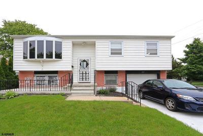 Atlantic City Single Family Home For Sale: 637 Green St Street