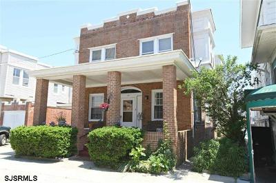Atlantic City Single Family Home For Sale: 109 S Albion Pl