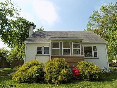 Vineland NJ Single Family Home For Sale: $72,900