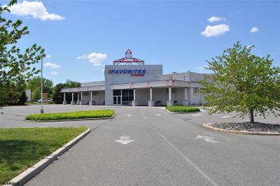 Vineland Commercial For Sale: 1332 S Delsea Dr