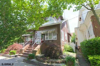 Atlantic City Single Family Home For Sale: 21 S Jackson Ave