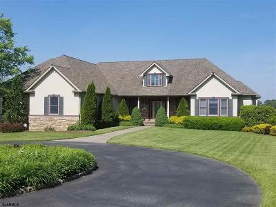 Upper Deerfield Township Single Family Home For Sale: 53 Husted Station Road