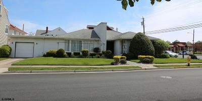 Atlantic City, Longport, Longport Borough, Margate, Ventnor, Ventnor Heights Rental For Rent: 8111 Atlantic Ave Ave