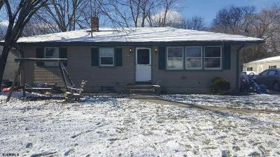 Vineland Single Family Home For Sale: 652 Alps