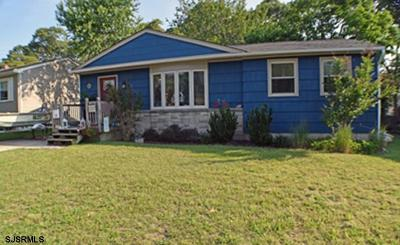Somers Point Single Family Home For Sale: 14 W Cedar