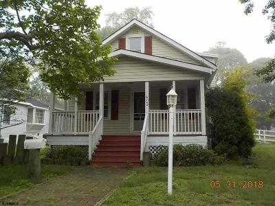 Somers Point Single Family Home For Sale: 403 Dobbs Ave