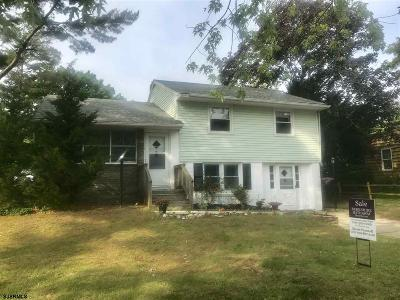 Somers Point Single Family Home For Sale: 221 W Dawes Ave Ave