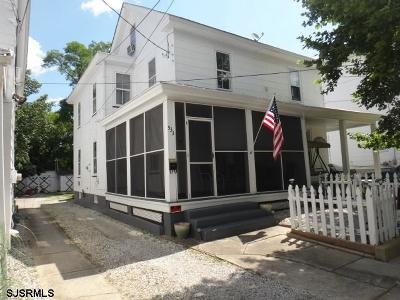 Millville Single Family Home For Sale: 533 Columbia Ave Ave