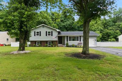 Vineland Single Family Home For Sale: 1070 Garry Ave