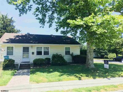 Somers Point Single Family Home For Sale: 401 W New York Ave Ave
