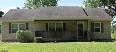 Millville Single Family Home For Sale: 1701 Fairton Road