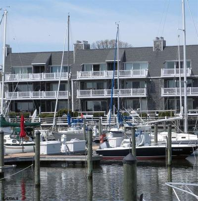 Somers Point Condo/Townhouse For Sale: 512 Harbour Cove #512