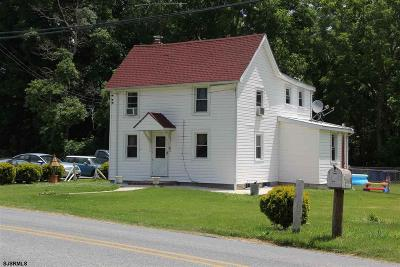 Pittsgrove Township Single Family Home For Sale: 1844 Parvin Mill Road