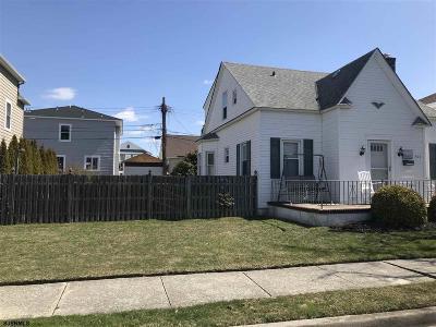 Atlantic City, Longport, Longport Borough, Margate, Ventnor, Ventnor Heights Rental For Rent: 203 N Pembroke Ave