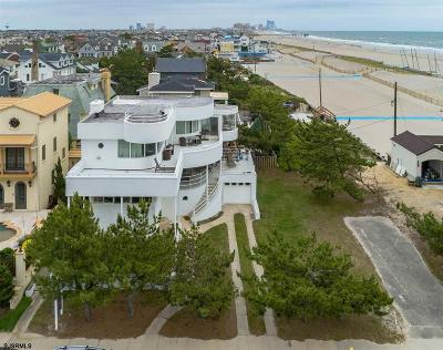 Margate NJ Single Family Home For Sale: $4,900,000