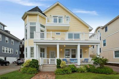 Atlantic City, Longport, Longport Borough, Margate, Ventnor, Ventnor Heights Rental For Rent: 115 S Sacramento Ave
