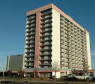 Atlantic City Condo/Townhouse For Sale: 655 Absecon Blvd #1401