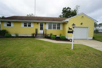Millville Single Family Home For Sale: 2411 Buttonwood Ln