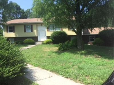 Egg Harbor Township Single Family Home For Sale: 2763 Fire Road