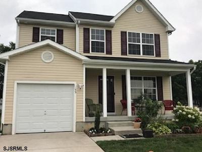 Vineland Single Family Home For Sale: 1155 Woodcrest Dr Dr