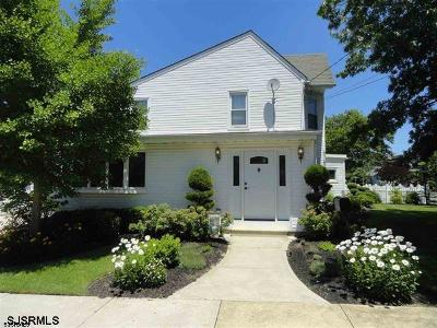 Somers Point Single Family Home For Sale: 203 Pennsylvania Ave