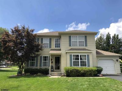 Vineland Single Family Home For Sale: 1640 Linden Ct