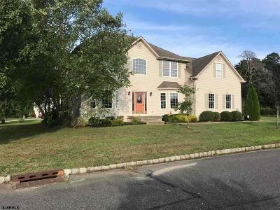 Millville Single Family Home For Sale: 441 Caroline Ln