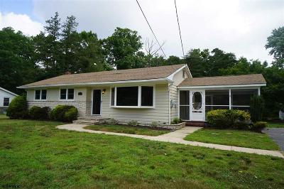Millville Single Family Home For Sale: 16 Wildwood Ave Ave