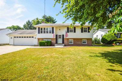 Vineland Single Family Home For Sale: 1801 E Walnut Rd