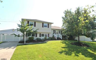 Somers Point Single Family Home For Sale: 39 Gulph Mill Road