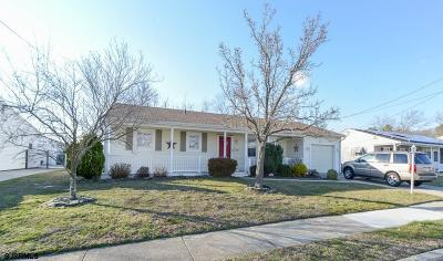 Somers Point Single Family Home For Sale: 42 Gulph Mill Road