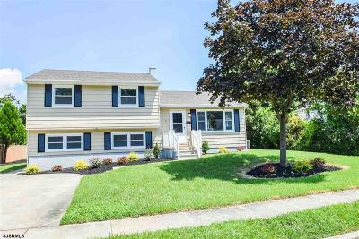 Somers Point Single Family Home For Sale: 111 Colwick Drive