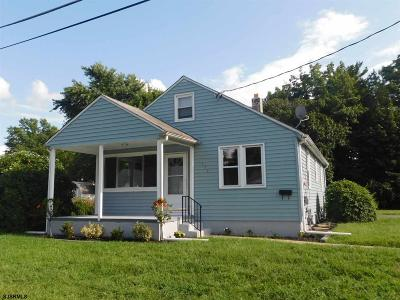 Vineland Single Family Home For Sale: 111 Bortle Ave