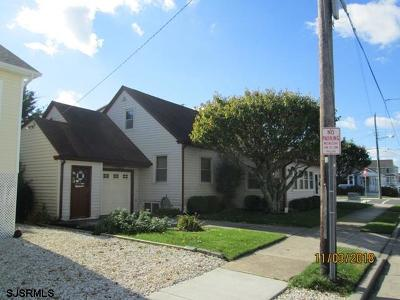 Ventnor Single Family Home For Sale: 6902 Monmouth Ave