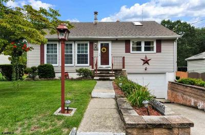 Millville NJ Single Family Home For Sale: $189,900
