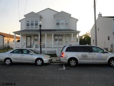 Atlantic City Single Family Home For Sale: 332 N Massachusettes Ave