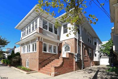 Atlantic City, Longport, Longport Borough, Margate, Ventnor, Ventnor Heights Rental For Rent: 3 S Surrey Ave