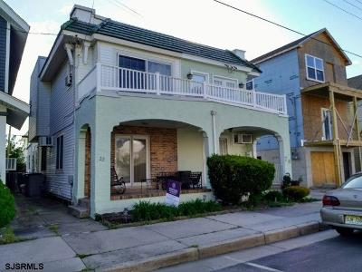 Ventnor Single Family Home For Sale: 22 N Washington Ave