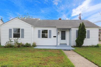 Ventnor Single Family Home For Sale: 230 N Rosborough Ave