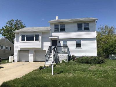 Ocean City Single Family Home For Sale: 105 Bartram Lane
