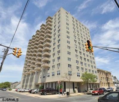 Atlantic City Condo/Townhouse For Sale: 3817 Ventnor #504