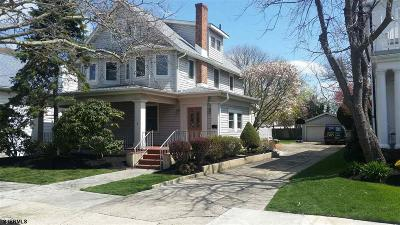 Atlantic City, Longport, Longport Borough, Margate, Ventnor, Ventnor Heights Rental For Rent: 5 S New Haven Ave