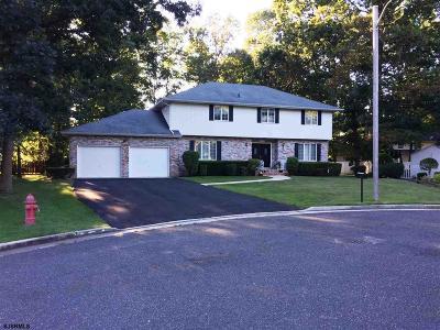 Vineland Single Family Home For Sale: 2794 Driftwood Lane
